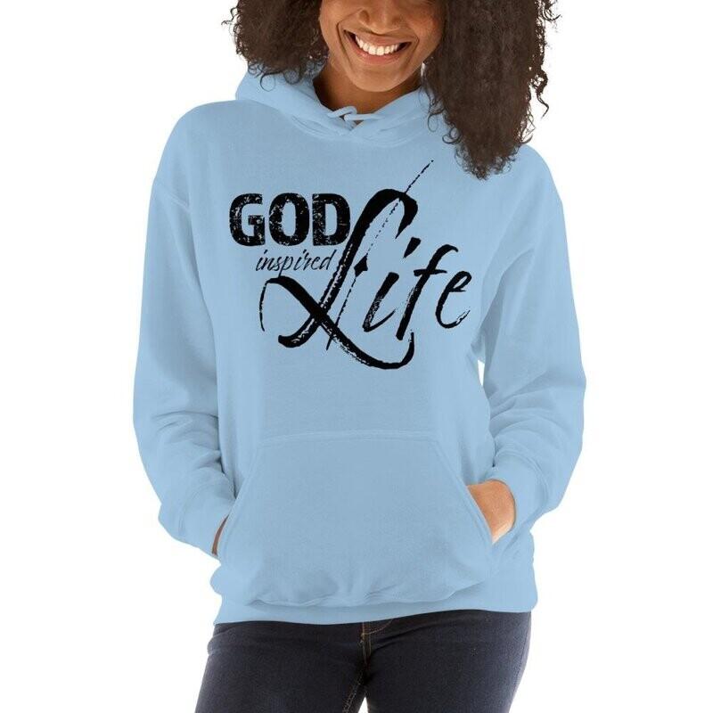 God Inspired Life Womens Hoodie
