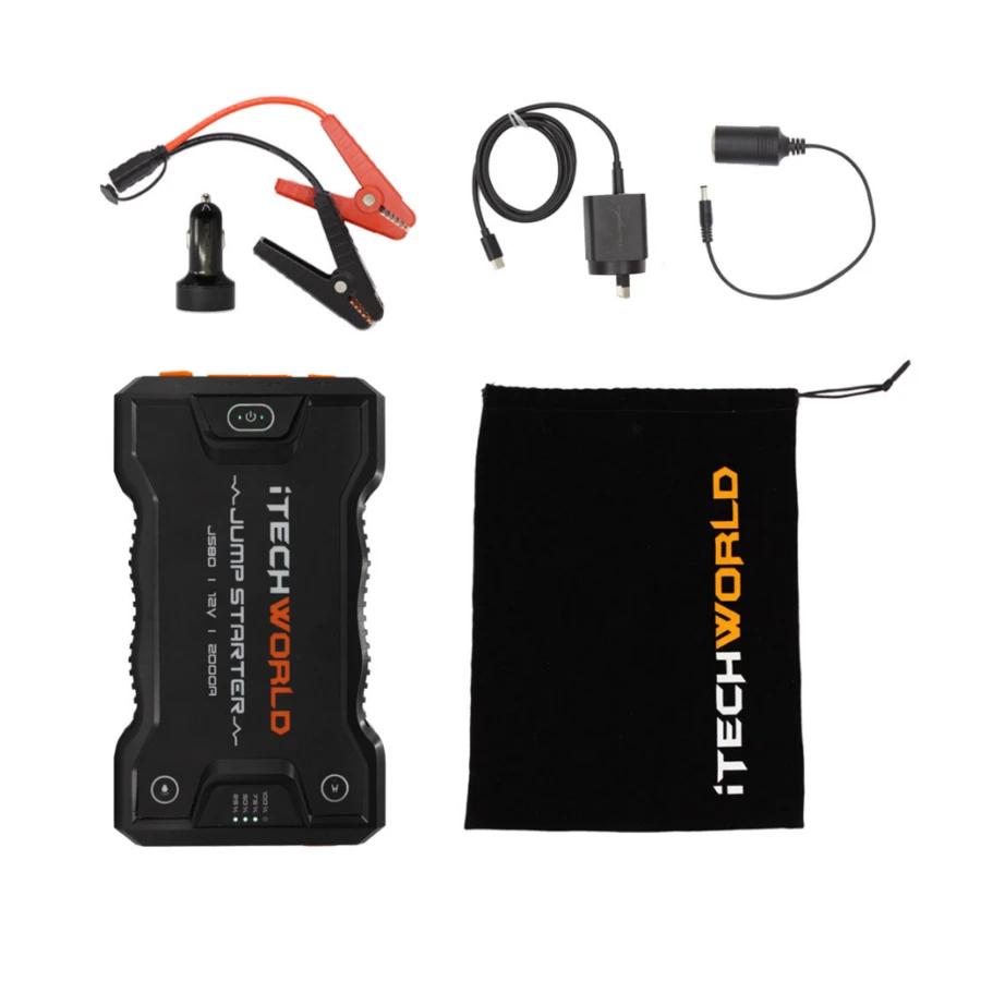 JS80 Portable Jump Starter Backup Power Bank 3000 amp