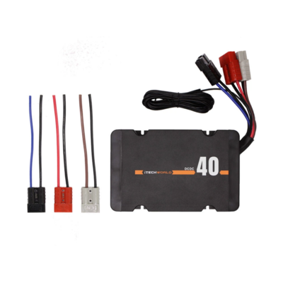 Dual input 40A In-Vehicle Battery Charger DC iTECHDCDC40 DCDC