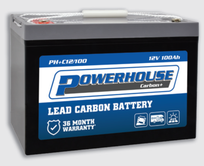 Powerhouse 100Ah Lead Carbon Deep Cycle Battery PHC12/100 *PICKUP ONLY*