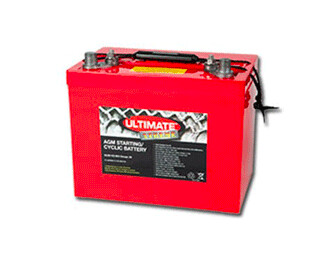 Ultimate Xtreme 110Ah AGM Battery Starting and Deep cycle
