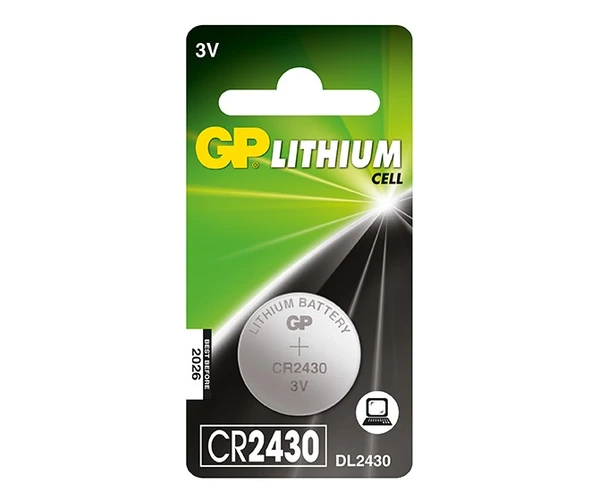 GP Lithium Cell Battery - CR2430