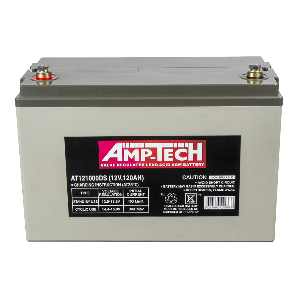 AT121000DS - AMP-TECH 120ah AGM