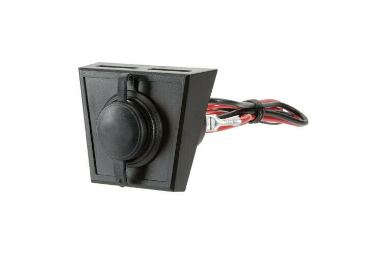 Narva Accessory Socket with Optional Mounting Panel