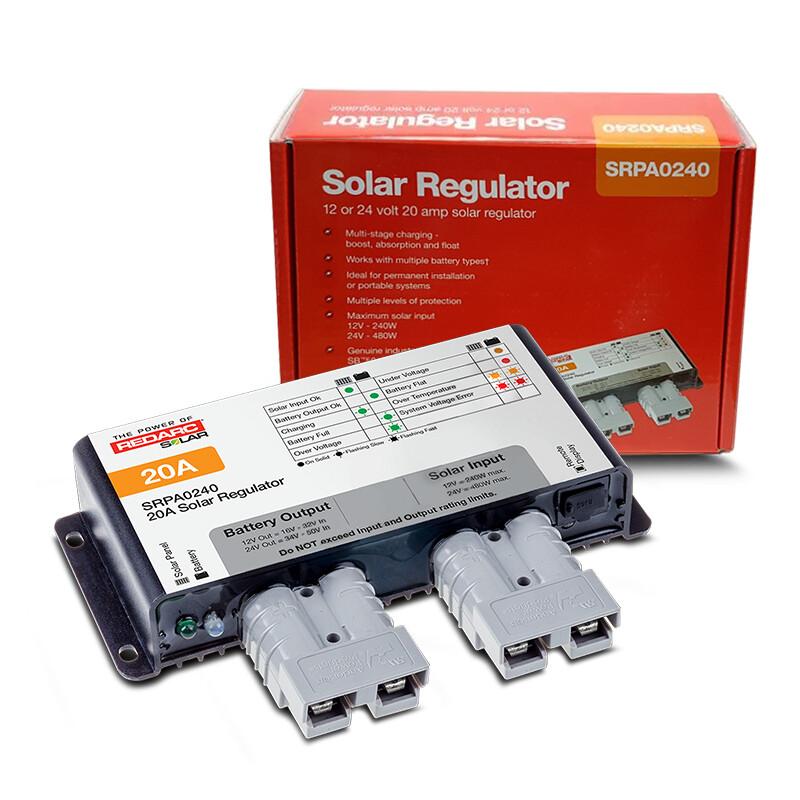 Redarc  20 Amp Solar Regulator 12/24