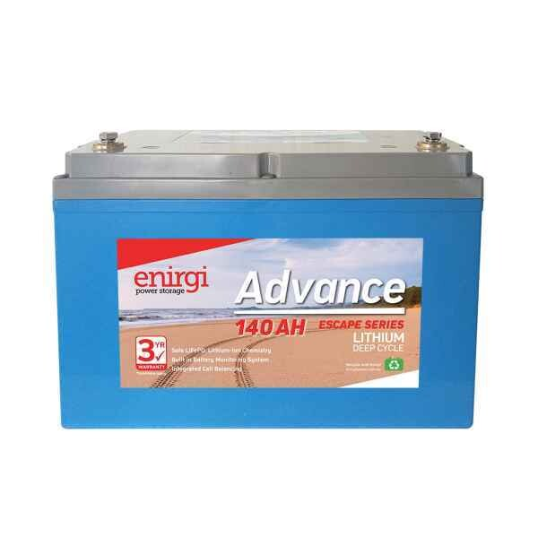 Enirgi Advance Escape Lithium Deep Cycle Battery 12.8V 140Ah PICKUP ONLY