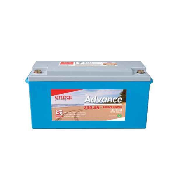 Enirgi Advance Escape Lithium Deep Cycle Battery 12.8V 230Ah PICKUP ONLY