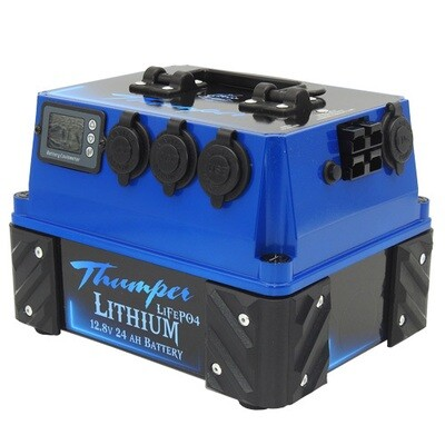 THUMPER 24 AH LITHIUM BATTERY PACK (PICK UP ONLY)