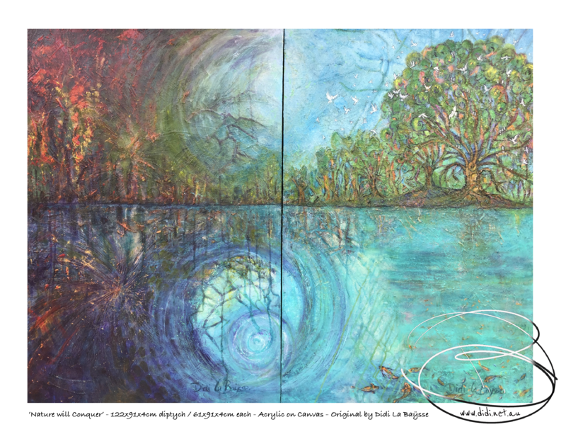 Nature will conquer - Diptych