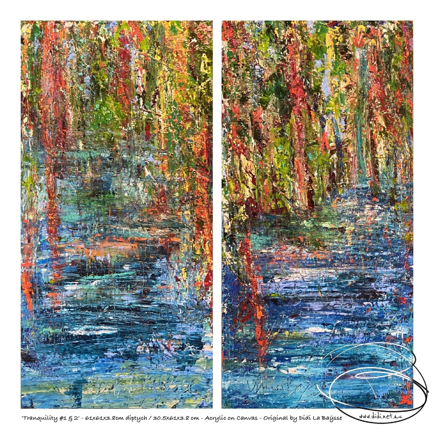 Tranquillity #1 & 2 Diptych