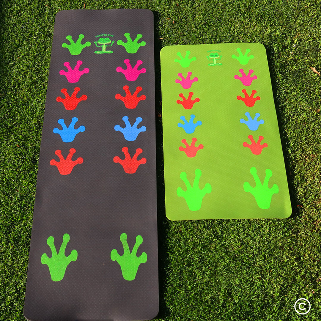 Yogalily Pad Family Special for 3 (1 Adult & 2 Kid Size Mats)