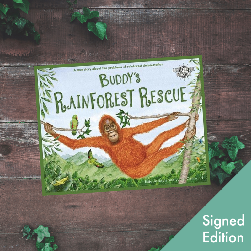 Buddy's Rainforest Rescue - Signed edition