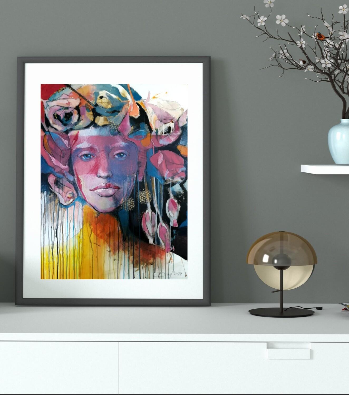 Synthesis - Giclée Fine Art Druck 50x70cm