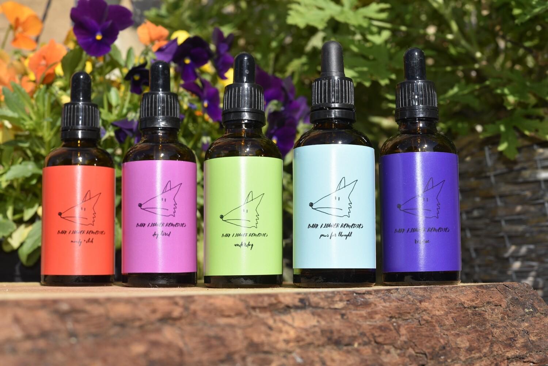 Black Dog Remedy Collection - Bark flower remedies flower essence bundle