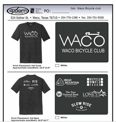 WBC Black Frost T-Shirt