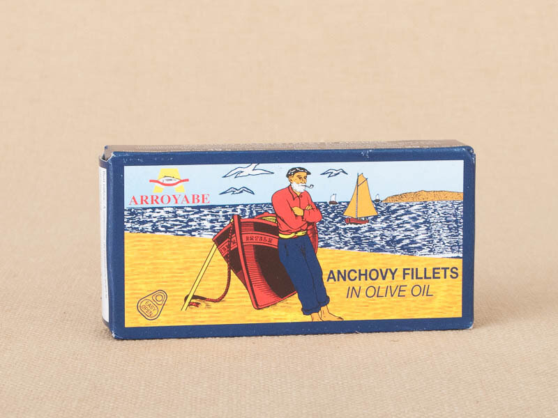 Arroyabe Anchovies 1.76oz