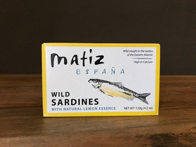 Matiz Sardines w/Lemon 120g