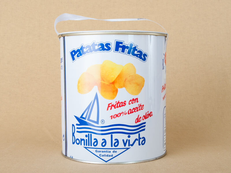 Bonilla Chips Tin 500g