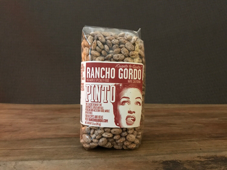 Rancho Gordo Pinto Beans 16 oz