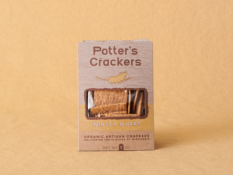 Potter's Wheat Crackers