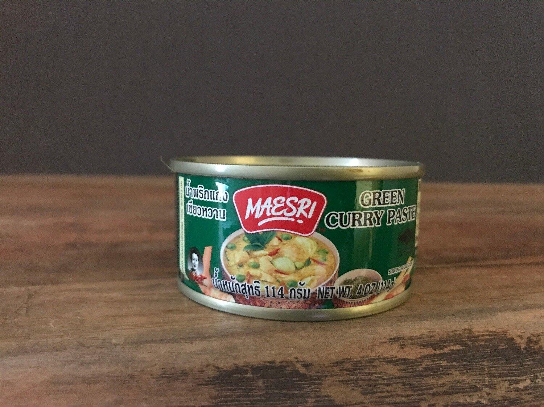 Maesri Green Curry Paste 4oz