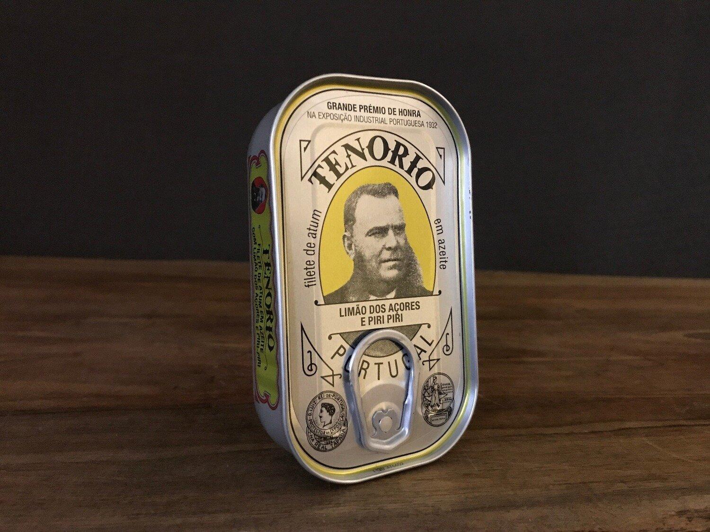 Tenorio Tuna Lemon Chili 120g