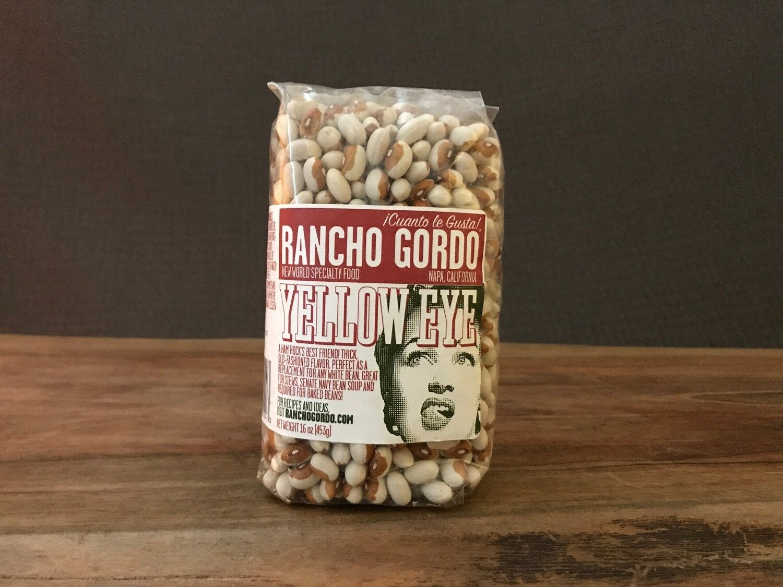 Rancho Gordo Yellow Eye Beans 16oz