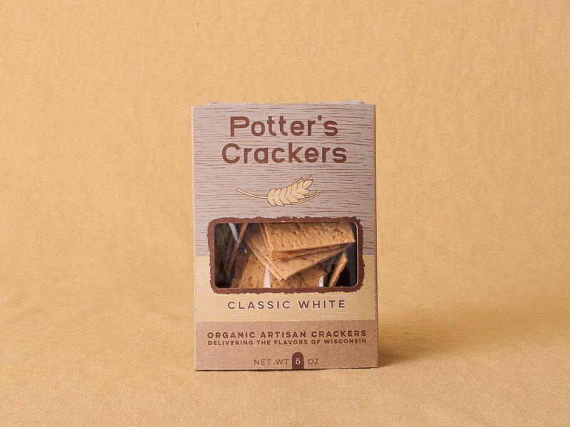 Potter's White Crackers