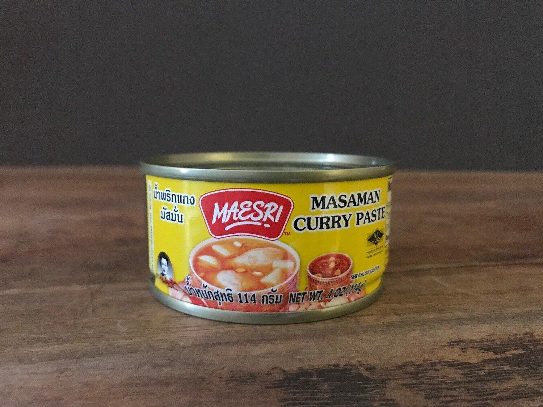 Maesri Masaman Curry Paste 4oz