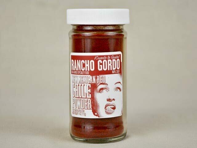 Rancho Gordo Chile Powder 2oz