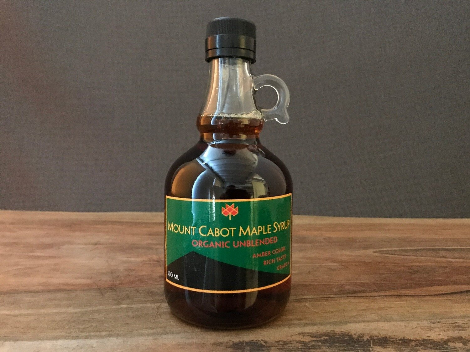 Mount Cabot Org Maple Syrup500