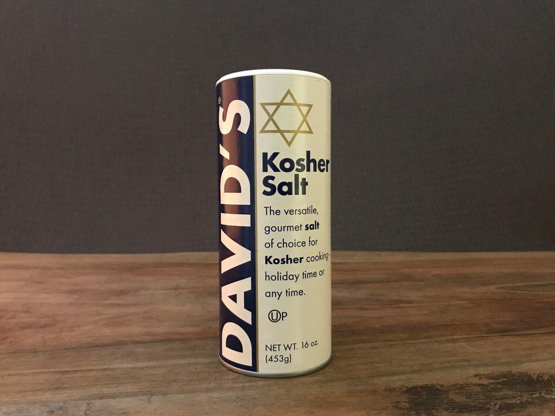 David's Kosher Salt 16oz