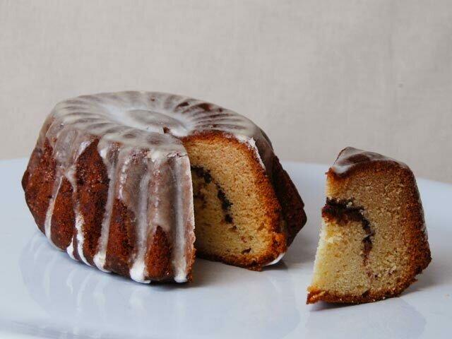Coffee Cake, Sour Cream Walnut