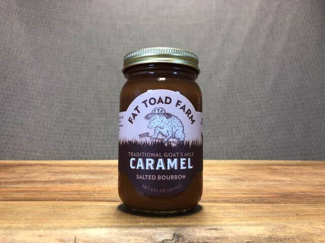 Fat Toad Bourbon Caramel 8oz