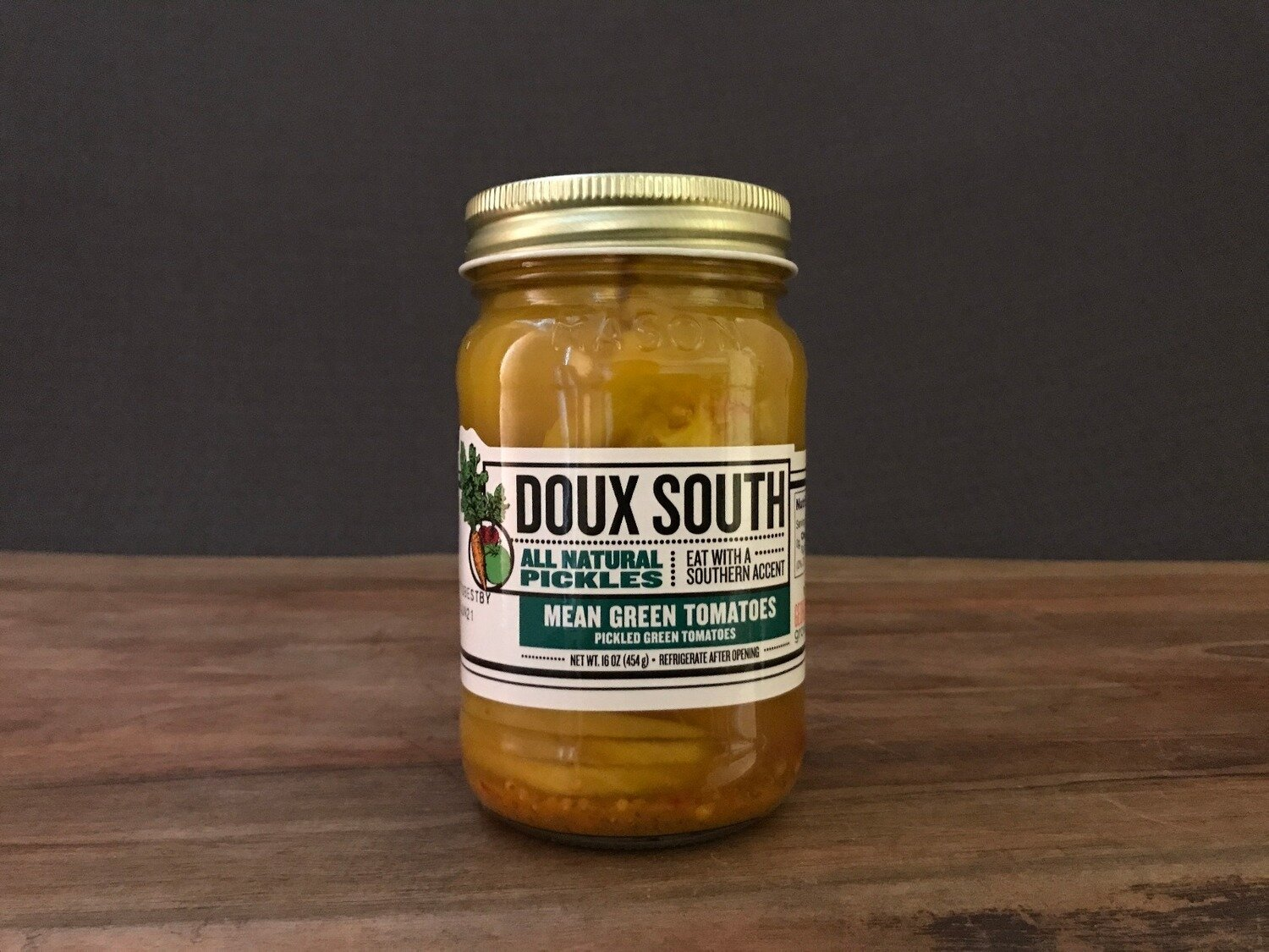 Doux South Mean Green Tomatoes 16oz