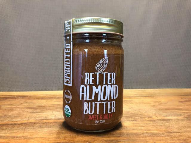 Better Almond Butter Sweet & Salty - 12 oz