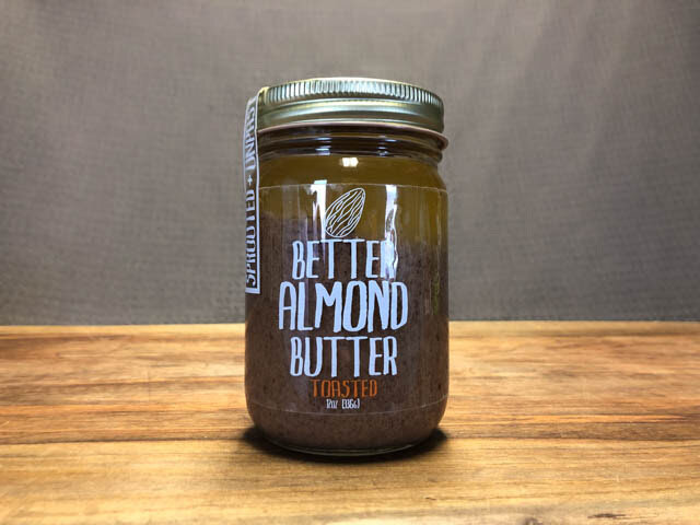 Better Almond Butter Toasted - 12 oz