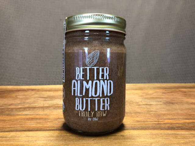 Better Almond Butter Truly Raw - 12 oz