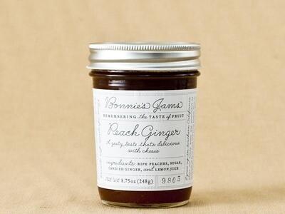 Bonnie's Peach Ginger 8.75oz