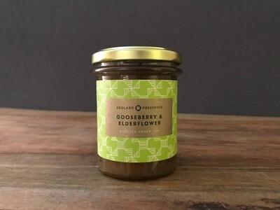 England Preserves Gooseberry/Elderflower