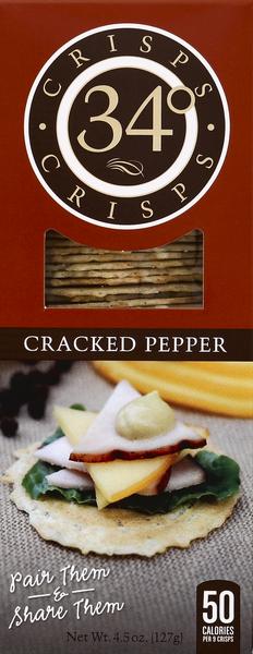 34 Degrees Cracked Pepper Crisps