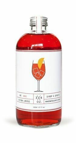3/4 Oz Spritz Syrup 503ml