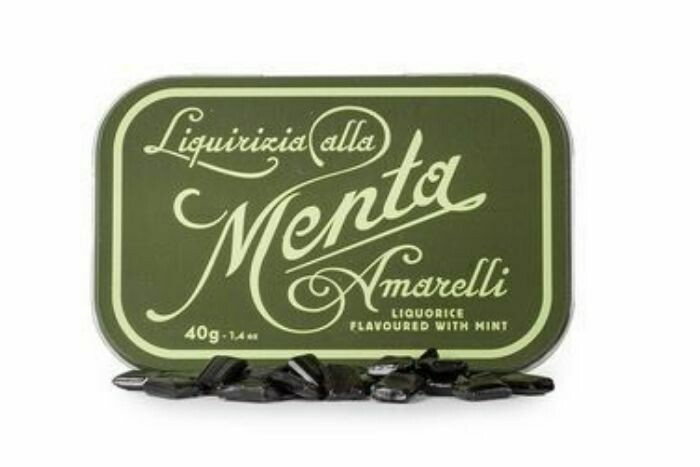 Amarelli Licorice Favette (Mint) 40g