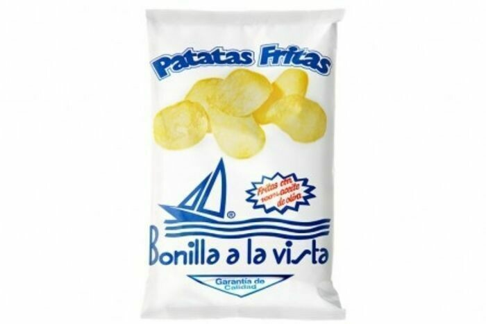 Bonilla Salt Free Chips 150g