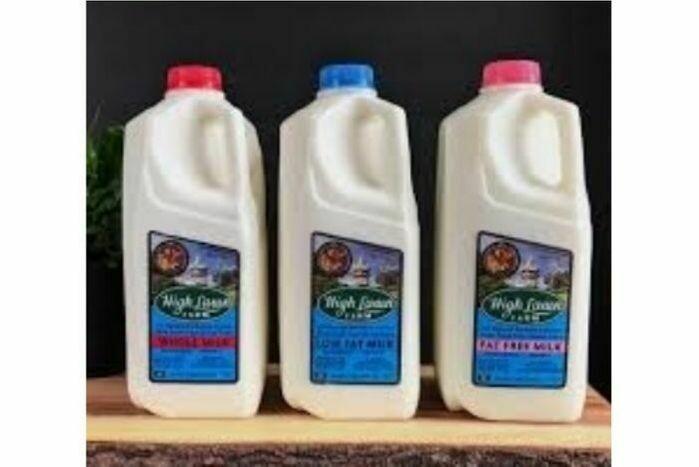 High Lawn Milk Whole 1/2 Gal