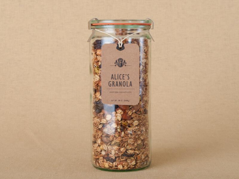 Alice's Granola Weck Jar