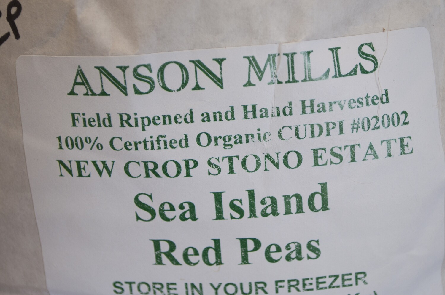 Anson Mills Sea Island Red Peas Container