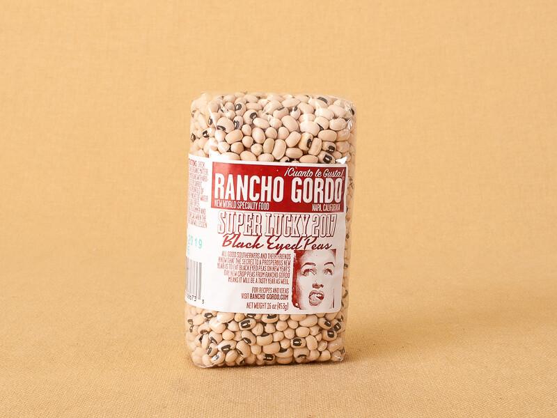 Rancho Gordo Black Eyed Peas 16oz