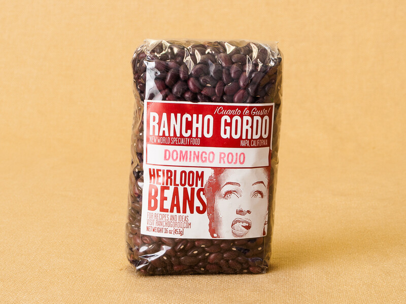Rancho Gordo Domingo Beans 16oz