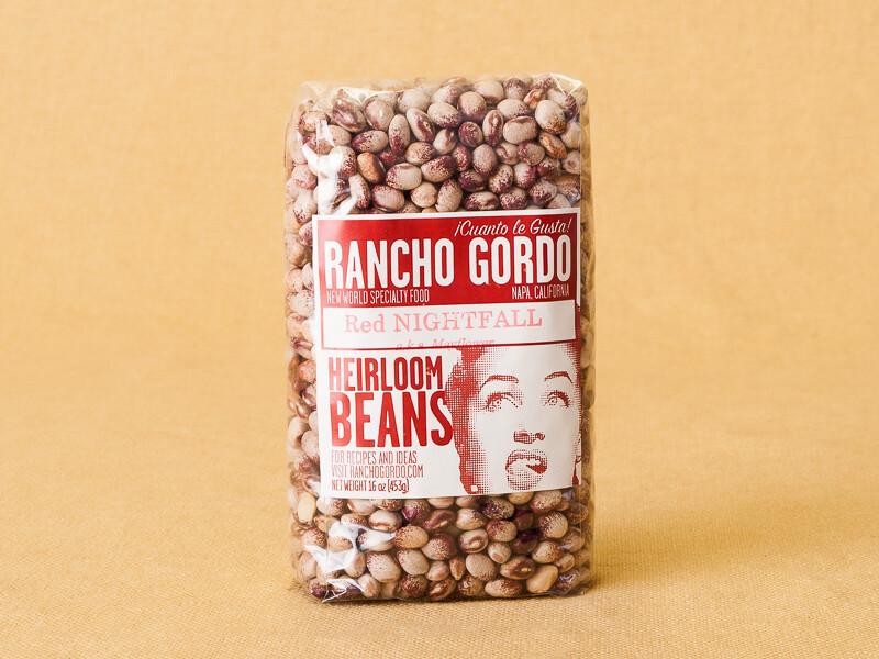Rancho Gordo Red Night Beans 16oz